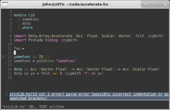 Neovim for Haskell Development - mendo zone